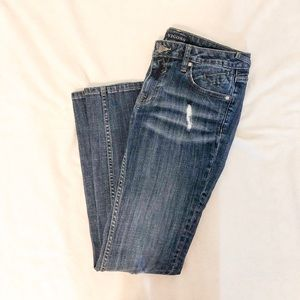 Vigoss Medium Wash Ripped Jeans